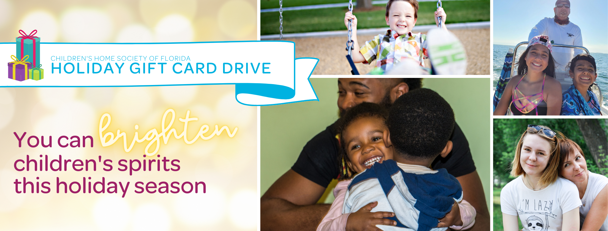 CHS Holiday Gift Card Drive - Banner
